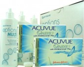 No Acuvue Oasys, 2x 6er Box + Pflegemittel