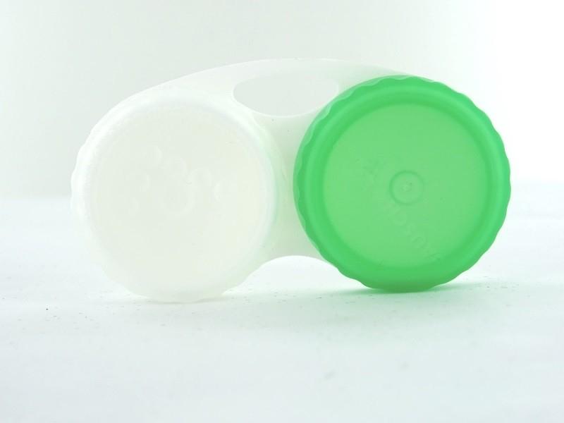 No Kontaktlinsenbehälter Bausch & Lomb, Grün