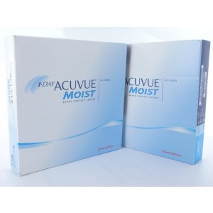 1 Day Acuvue Moist, 2x 90er Box