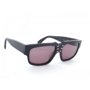 Claude Montana 572 282M Black Blue Holzoptik/Pink Glasses