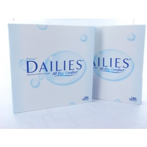 Focus Dailies All Day Comfort, 2x 90er Box