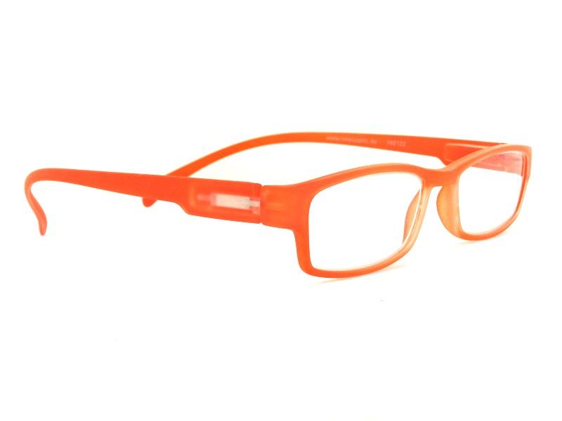Klammeraffe NO 01 Orange +1.0 Lesebrille