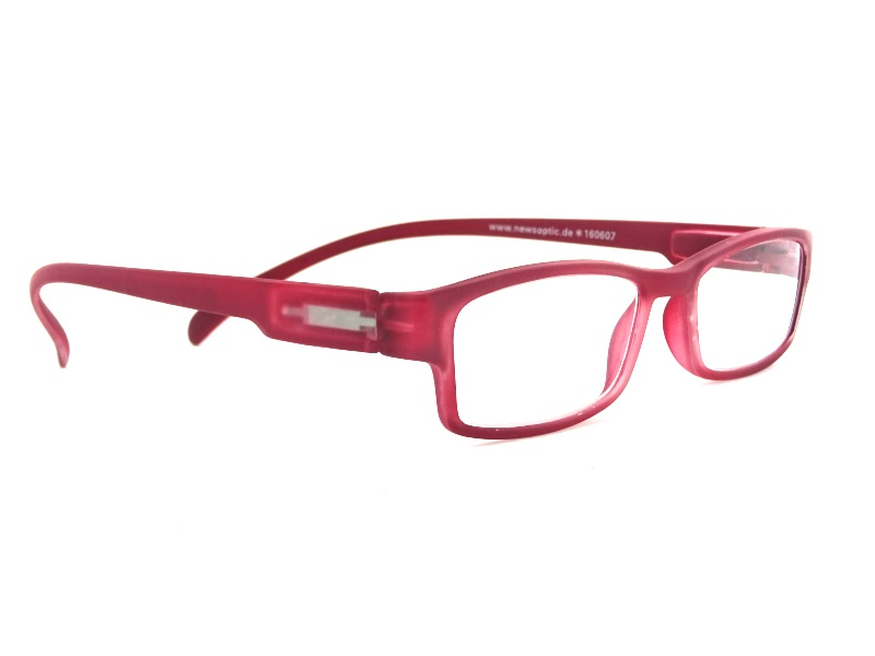 Klammeraffe NO 01 Red +1.0 Lesebrille